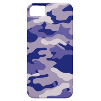 Blue Camouflage Camo texture iPhone 5 Case