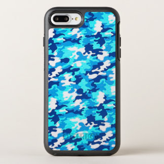 Blue Camouflage OtterBox Symmetry iPhone 8 Plus/7 Plus Case