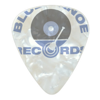 Blue Canoe Records Guitar Pick Pearl Celluloid Guitar Pick