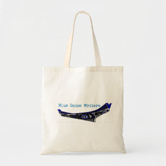 Blue Canoe Writers Canvas Bag