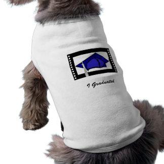 Blue Cap Silver Tassel Dog Clothes