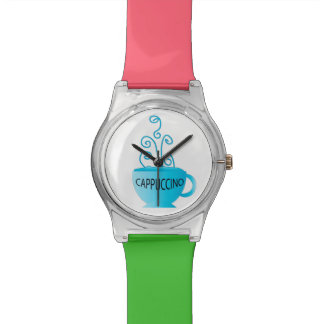 Blue Cappuccino Delight Watch