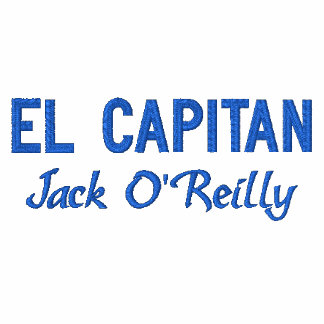 Blue Captain's Embroidered Shirt