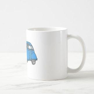 Blue Car (2CV) Coffee Mug