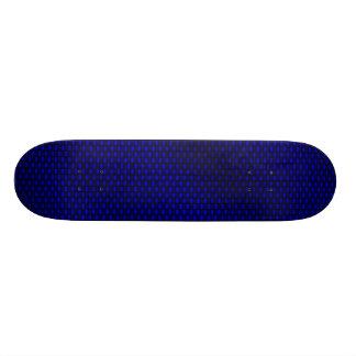 Blue Carbon Fiber Skate Deck