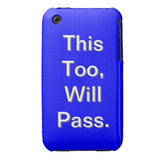 Blue Case-Mate iPhone 3 Case