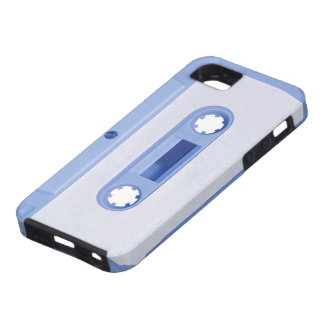 Blue Cassette Mobile Phone Case iPhone 5 Cases