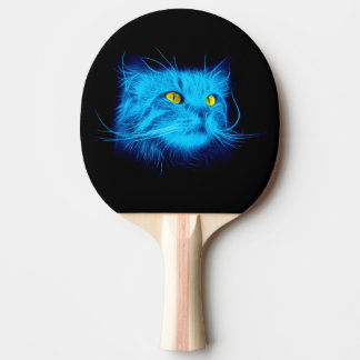 Blue Cat Ping Pong Paddle