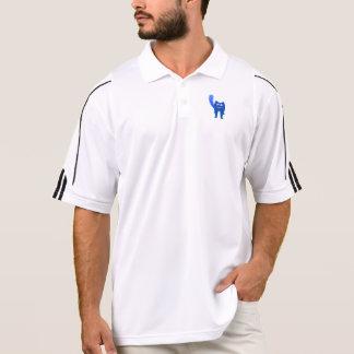 Blue Cat Polo Shirt