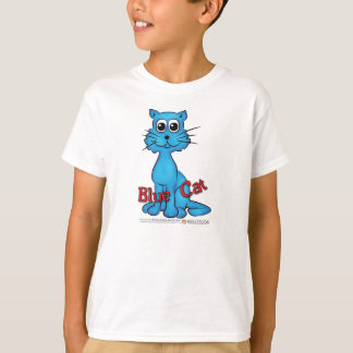 Blue Cat T-Shirt from Red Cat Book