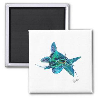 Blue Catfish Magnet