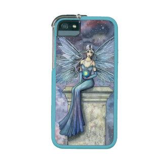 Blue Celeste Fairy Fantasy Art by Molly Harrison iPhone 5/5S Cases