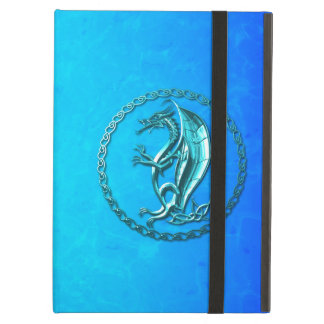 Blue Celtic Dragon iPad Air Case