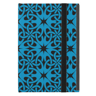 Blue Celtic Knot CHOOSE YOUR OWN BACKGROUND iPad Mini Cases