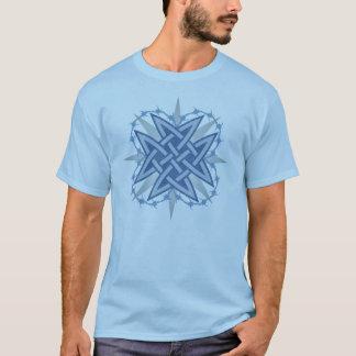 """Blue Celtic """"Weave"""" T-Shirt"""