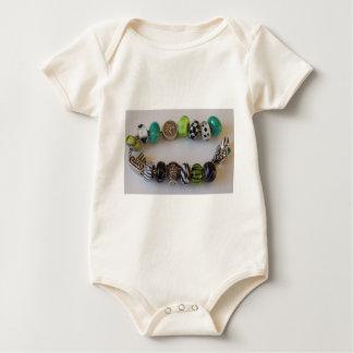 Blue Chain by MelinaWorld Jewellery Baby Bodysuit