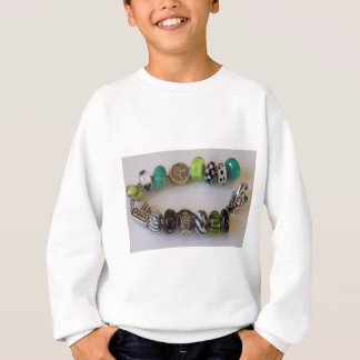Blue Chain by MelinaWorld Jewellery Sweatshirt