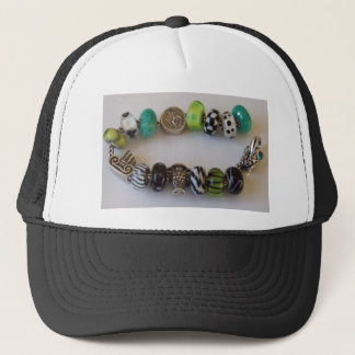Blue Chain by MelinaWorld Jewellery Trucker Hat