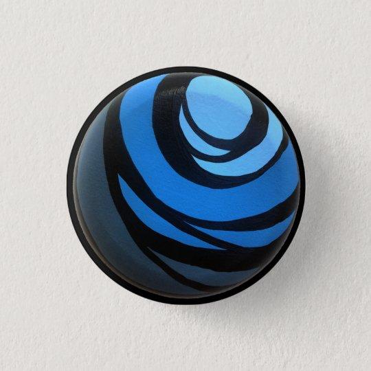 Blue Chakra Button