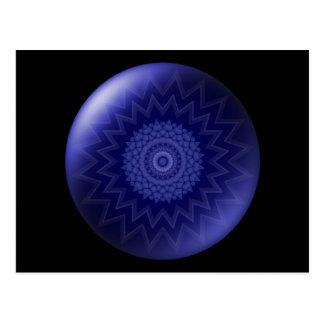 Blue Chakra Postcard