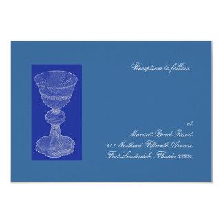 Blue Chalice Reception Custom Invites