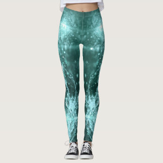 BLUE CHAMPAGNE LEGGINGS