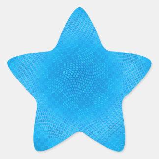 blue checkered star stickers