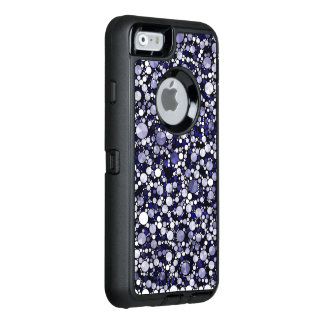 Blue Cheetah Bling OtterBox iPhone 6/6s Case