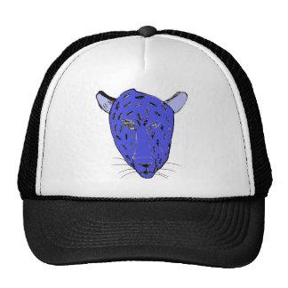 Blue Cheetah Cap