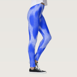 Blue Cheetah Leggings