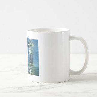 Blue chess mug