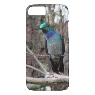 Blue-chested Hummingbird iPhone 8/7 Case