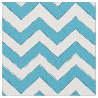 Blue Chevron Fabric, Nautical Chevron Fabric