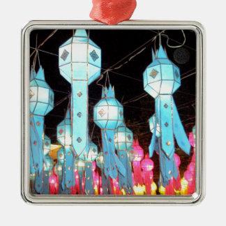 Blue Chiang Mai Christmas Ornament