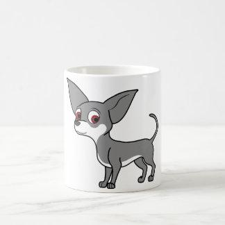 Blue Chihuahua with White Markings Coffee Mug