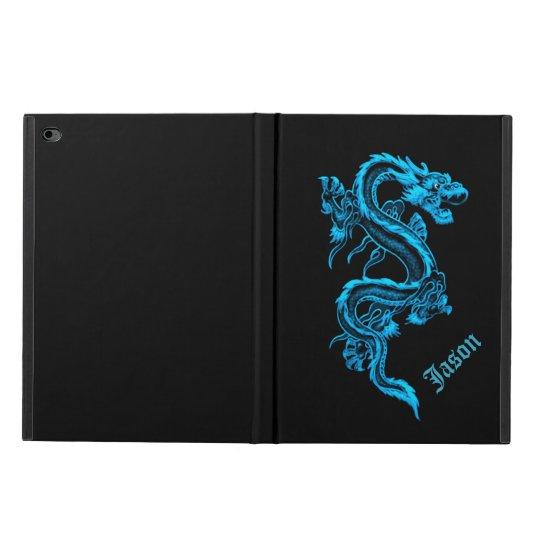 Blue Chinese Dragon iPad Air 2 Case