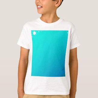 Blue Christmas Background T-Shirt