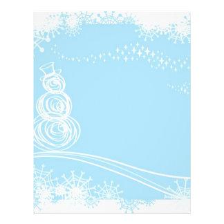Blue Christmas 21.5 Cm X 28 Cm Flyer