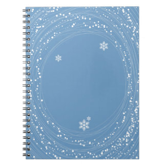 blue Christmas Journal