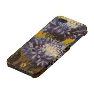 Blue Chrysanthemum iPhone 5/5S Cases