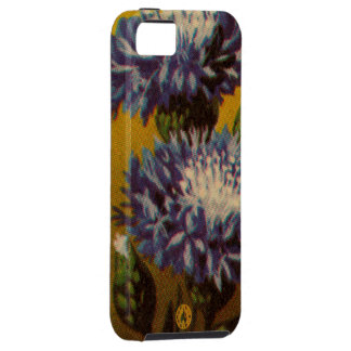 Blue Chrysanthemum iPhone 5 Covers