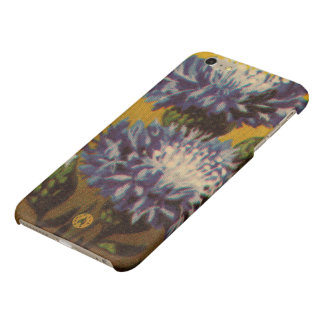 Blue Chrysanthemum iPhone 6 Plus Case