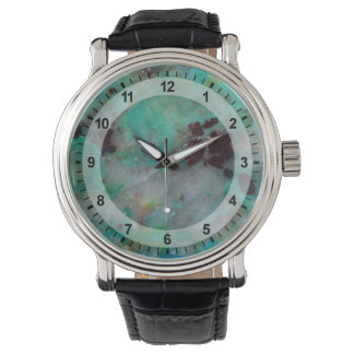 Blue Chrysocolla Jasper Watch
