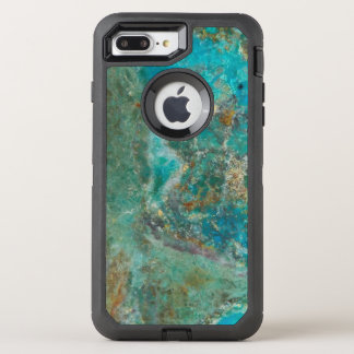 Blue Chrysocolla Stone Image OtterBox Defender iPhone 8 Plus/7 Plus Case