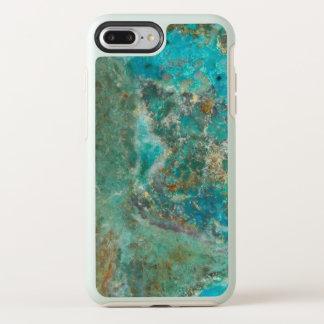 Blue Chrysocolla Stone Image OtterBox Symmetry iPhone 8 Plus/7 Plus Case