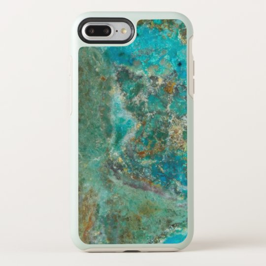 Blue Chrysocolla Stone Image OtterBox Symmetry iPhone 8