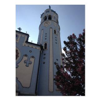 Blue Church, Bratislava Postcard