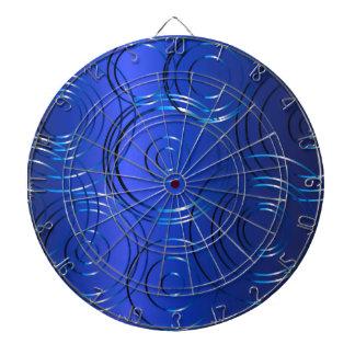 Blue Circle Background Dartboard