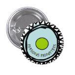 Blue Circle Pin