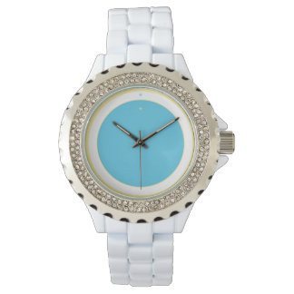 Blue Circle Watch